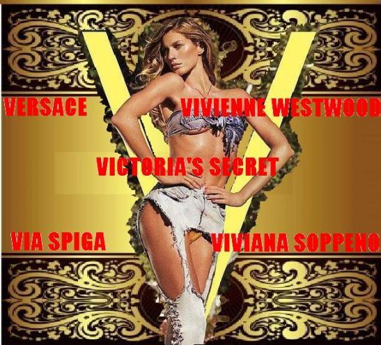The V fashion image