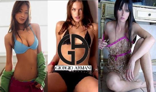Giorgio Armani Fashion Image