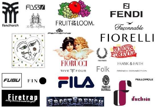 f fashion brands