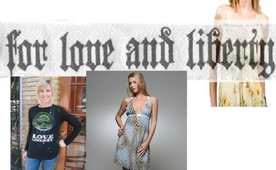 for love and liberty fashion