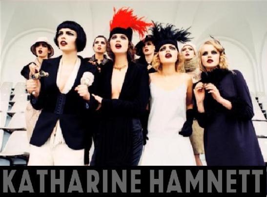 Katharine Hamnett fashion
