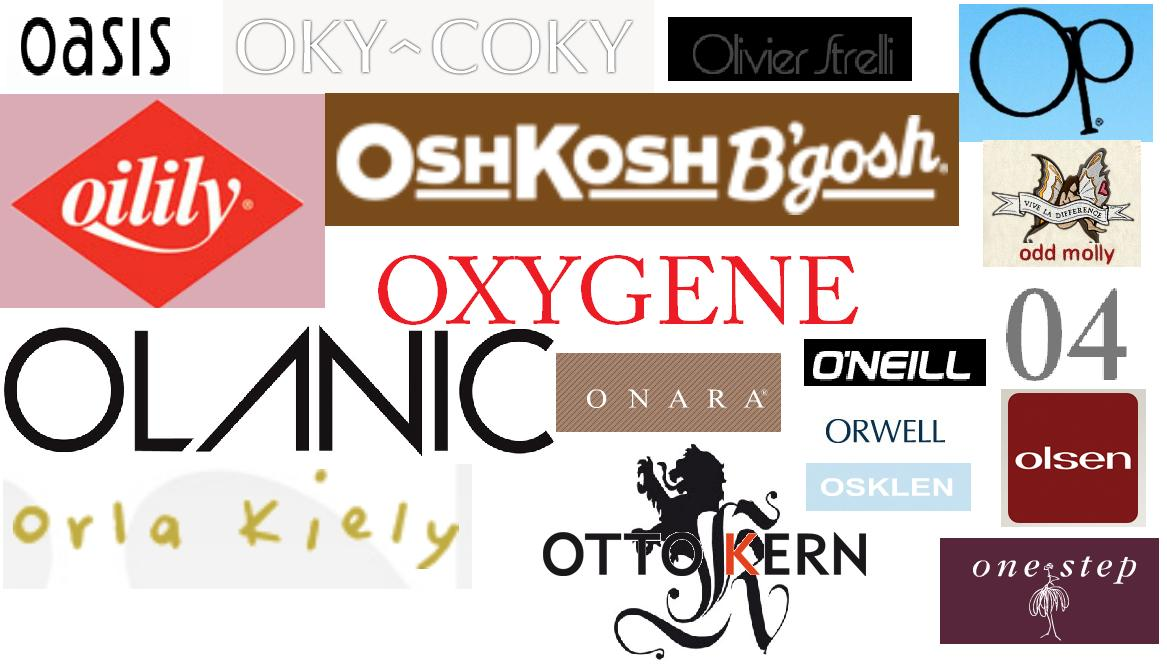 Names Of Designer Clothes | Outstanding Networks Of O Fashion Brands Uk Fashion Emporium