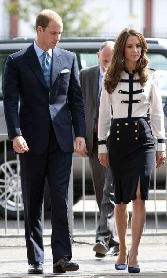 Duchess of Cambridge Kate Middleton and Prince William