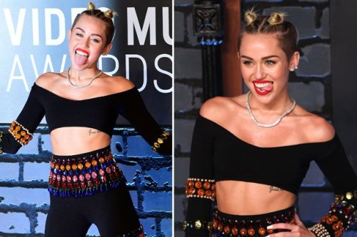 2013 VMA Wild Fashion Miley Cyrus 1
