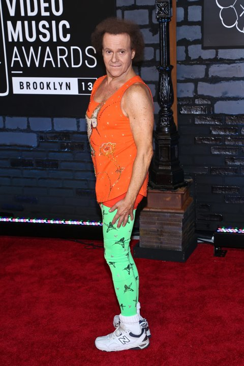 2013 VMA Wild Fashion Richard Simmons
