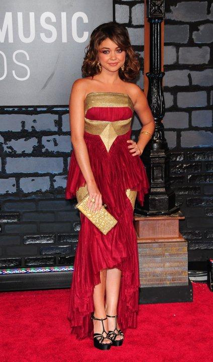 2013 VMA Wild Fashion Sarah Hyland