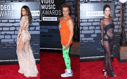 2013 VMA Wild Fashion